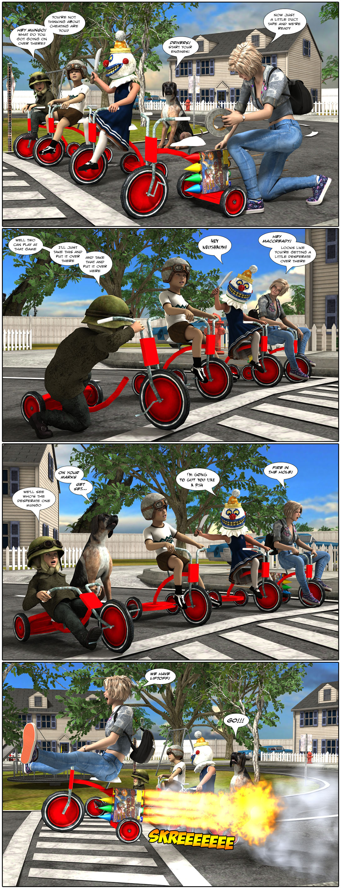 The Great Tranquility Trike Race